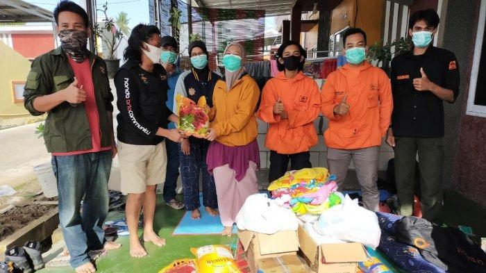 Bantu Korban Gempa di Sulbar, IKA Geologi Unhas Bawa Sembako Hingga Tandon Air
