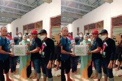 Kadin dan Hipmi Sidrap Salurkan Bantuan Sembako untuk Korban Bencana di Sulbar