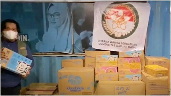 Dharma Wanita UGM Bantu Korban Gempa Bumi di Majene Sulbar Lewat FTI UMI