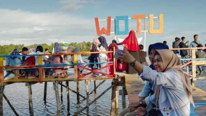 Libur Lebaran, Wisata Banua Pangka Luwu Timur Diserbu Pengunjung