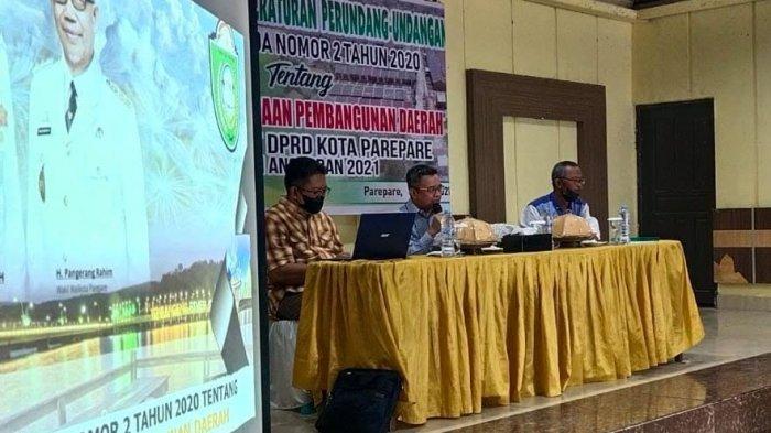 Bappeda Parepare Gandeng DPRD Sosialisasikan Perda Sistem Perencanaan Pembangunan Daerah