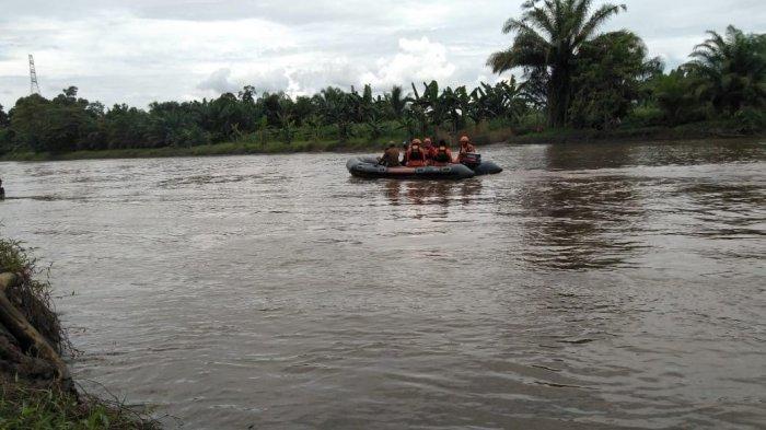 IRT Diterkam Buaya di Mateng, Basarnas Mamuju Bakal Menyelam Cari Korban di Sungai Barakkang