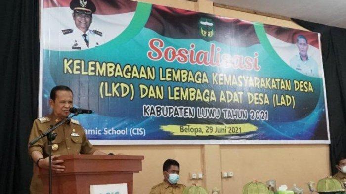 Basmin Mattayang Minta Camat dan Kepala Desa Tegur Warga yang Tak Pakai Masker