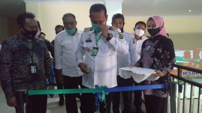 Bupati Luwu Resmikan Payment Point Bank Sulselbar di RSUD Batara Guru Belopa