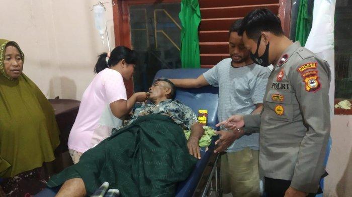 Imam Masjid Korban Pemarangan di Galesong Dirawat di RSUD Padjonga Takalar