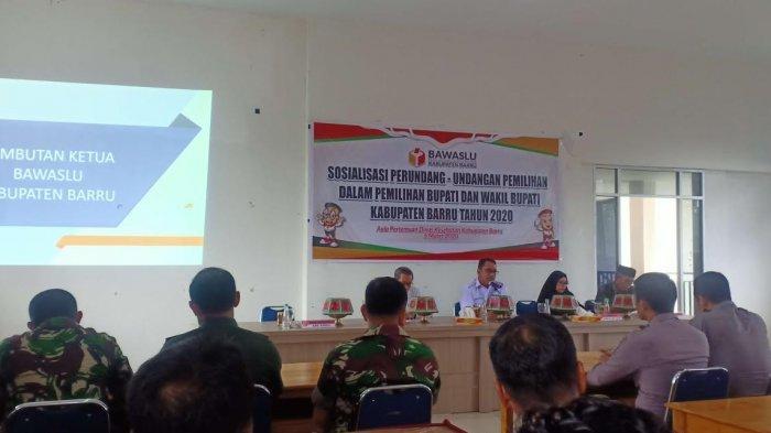 Pilkada Barru 2020, Bawaslu Sosialisasi Perundang-undangan Pemilihan
