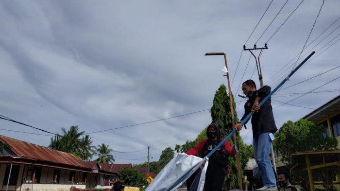 Masa Tenang, Atribut Kampanye Mulai Ditertibkan di Soppeng