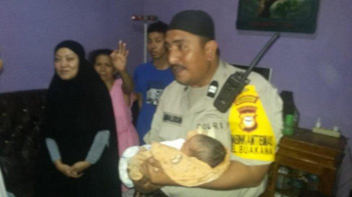 Dibuang Orangtuanya, Bayi Windi Menangis di Jl Emmy Saelan Makassar