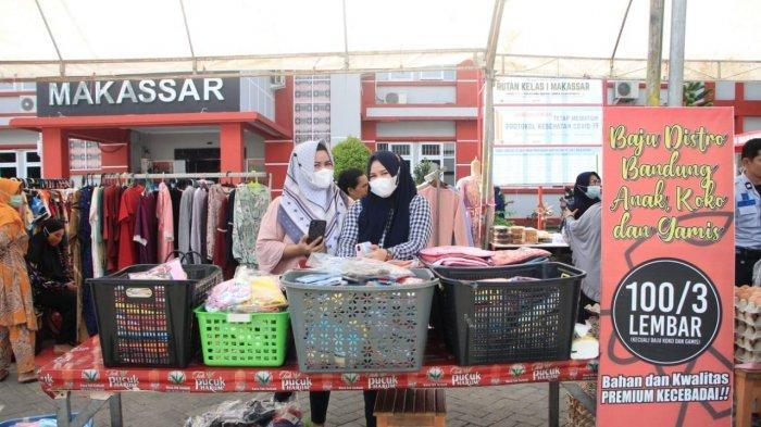 Ada Bazar dan Pasar Murah di Rutan Makassar