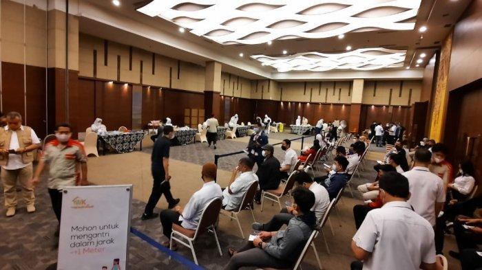 Hari Pertama Kerja Usai Lebaran, Kalla Group Swab Antigen Seluruh Karyawan