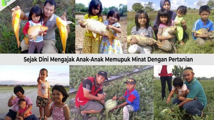 Dikukuhan Jokowi, Lima Petani Enrekang Terpilih Jadi Duta Petani Milenial dan Andalan