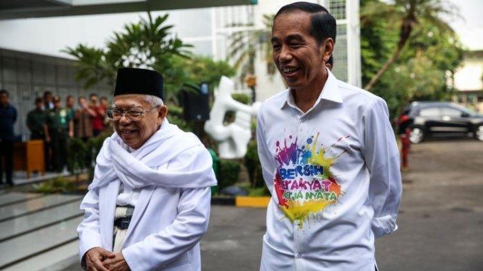 Beda dari Hasil Quick Count, KPU Nyatakan Jokowi-Maruf Amin Menangkan Pemilu 2019 di 21 Provinsi