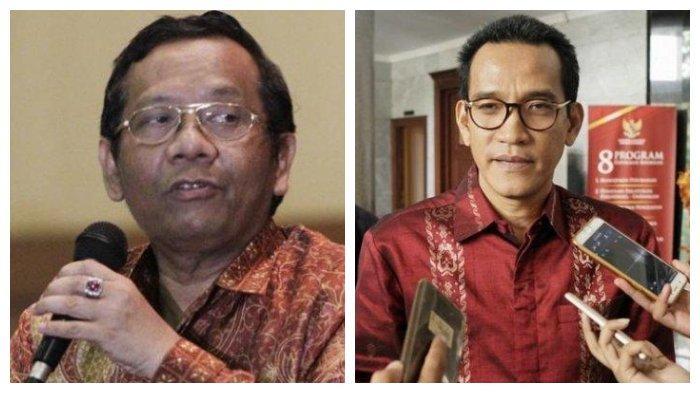 Beda Pendapat Mahfud MD dengan Refly Harun soal Gugatan BPN Prabowo-Sandi di Mahkamah Konstitusi