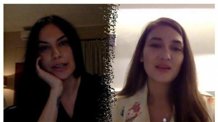 Ekspresi Luna Maya saat Sophia Latjuba Sebut Cowok Inisial A (Ariel Noah), Sampai Trending YouTube