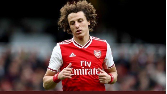 Bek Arsenal, David Luiz, dikabarkan akan hengkang pada akhir musim ini.