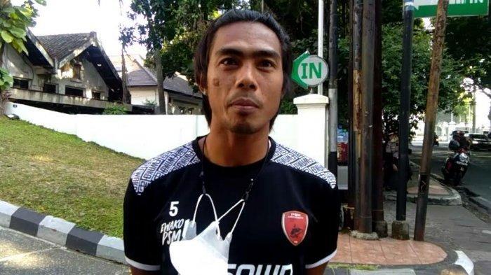 PSM Makassar vs Persik Kediri, Erwin Gutawa Siap Kawal Lini Belakang PSM