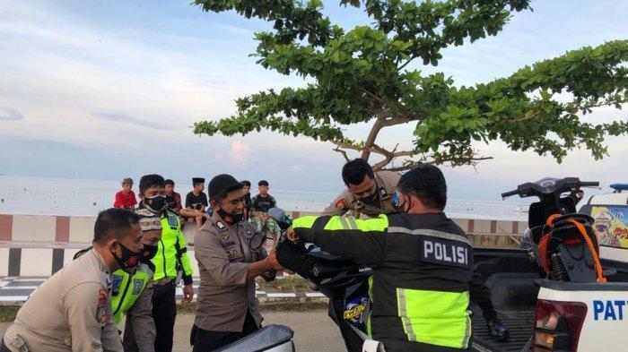 Terlibat Balapan Liar, Polisi Sita 14 Motor di Polman