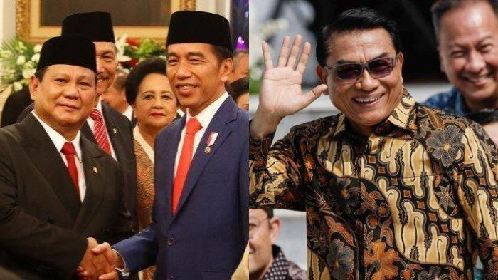 Belum 2 Pekan Jabat Menhan, Prabowo dapat Peringatan dari Moeldoko Jika Lakukan ini ke Jokowi