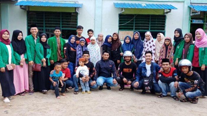BEM STAI DDI Pinrang Buka Puasa Bersama Anak Panti Asuhan Muslimat NU