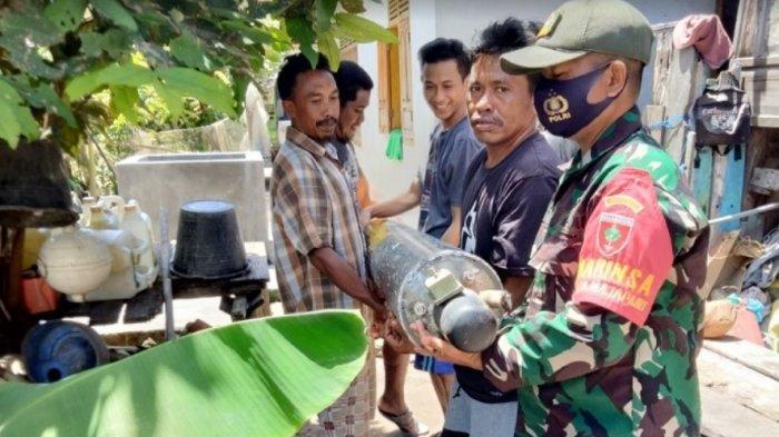 Ditemukan Nelayan, Benda Mirip Rudal di Pulau Bonerate Selayar Sudah Dievakuasi