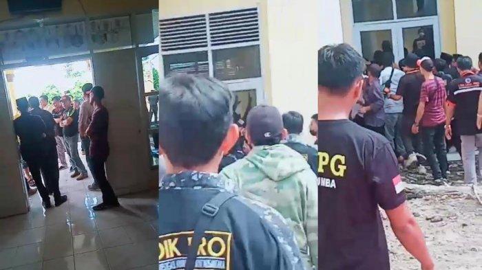 Pincam Dilarang Masuk, Rapat Pleno di Kantor Partai Golkar Bulukumba Ricuh