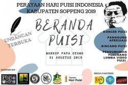 Soppeng Bakal Rayakan Hari Puisi Indonesia 2019, Disini Tempatnya