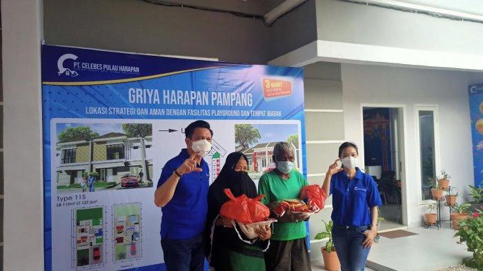 Celebes Pulau Harapan dan Catholic Family Ministry Makassar Berbagi Sembako