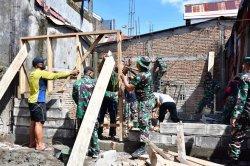 Kodam Hasanuddin Kebut Bedah Rumah Warga Bontoduri VII Makassar