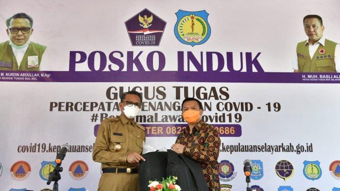 Bersama Forkopimda, Gubernur Sulsel Salurkan Bantuan dari Para Donatur ke Selayar