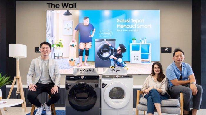 Samsung Hadirkan Mesin Cuci Smart EcoBubble, Hemat Listrik, Mudah Dioperasikan, Dikontrol Lewat HP