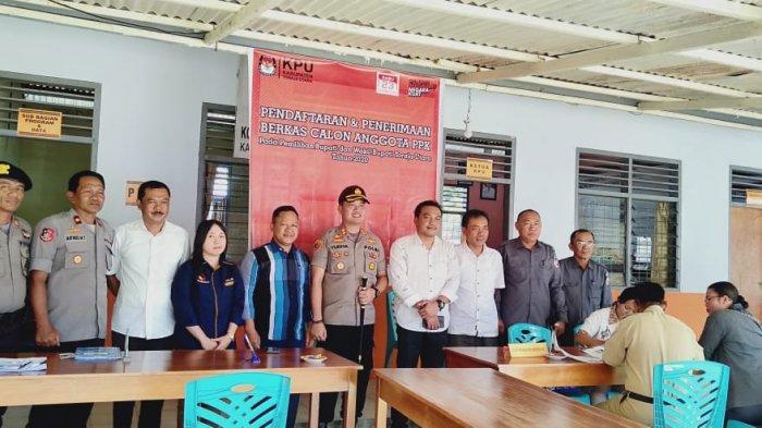Jelang Pilkada, Kapolres Toraja Utara Pantau Perekrutan PPK di KPU