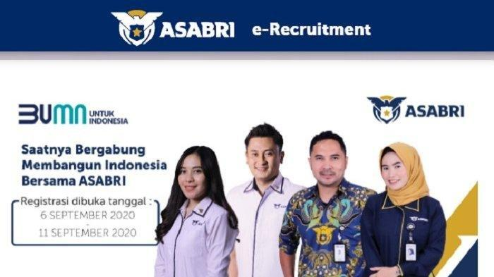 BESOK Terakhir! Segera Kirim Lamaran Lowongan Kerja ASABRI, Ada Penempatan Makassar, Daftar di Sini