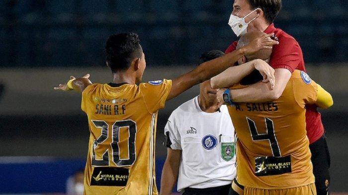 Benamkan Barito Putera, Bhayangkara FC Kini di Puncak Klasemen Sementara Liga 1 2021
