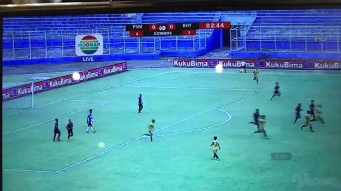 Hasil Akhir PSM Makassar vs Bhayangkara Solo FC Imbang 1-1