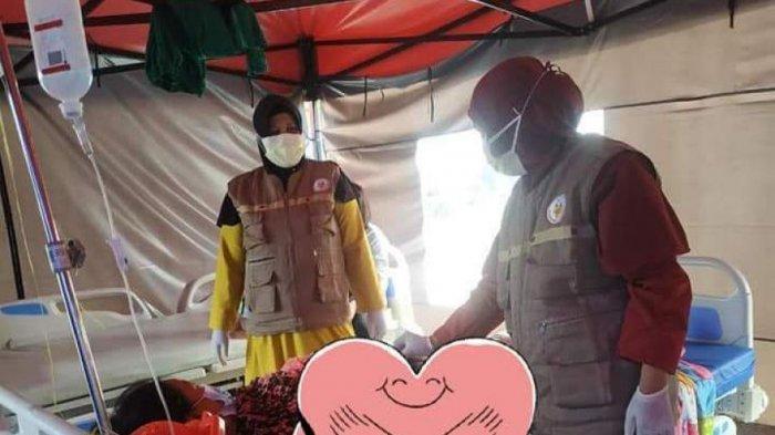 Bidan Asal Luwu Utara Bantu Pengungsi Gempa Sulbar Melahirkan