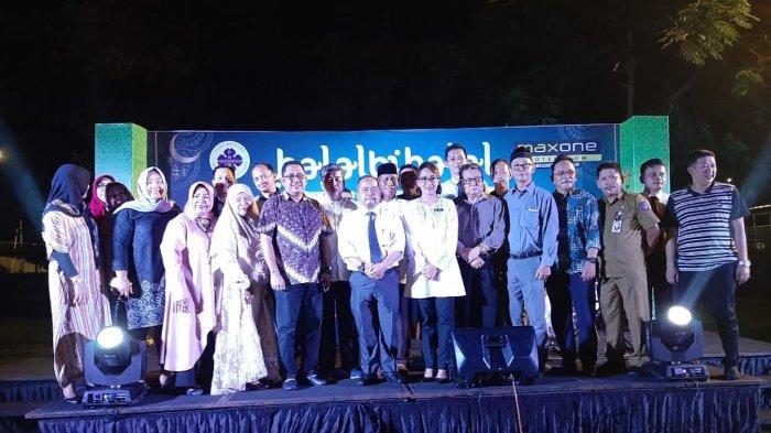 Manajemen MaxOne Hotel Makassar Halalbihalal Bersama PHRI