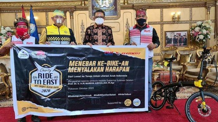 Gubernur NA-Komunitas Bike2Work Indonesia Ajak Masyarakat Jadikan Sepeda Alat Transportasi Harian
