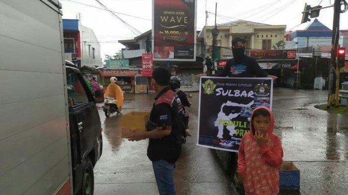 Bikers Fino Family Chapter Makassar Galang Dana untuk Sulbar