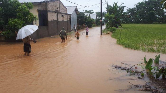 Perumahan Bina Sarana I Moncongloe Maros Banjir, Warga Sebut Laporan Belum Pernah Ditindaklanjuti