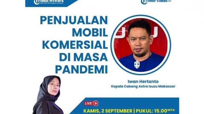 Tren Penjualan Astra Isuzu Selama Pandemi di Sulawesi Selatan, Priode Juni 2020 Hanya Laku 50 Unit