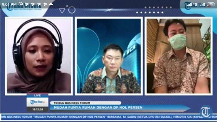 Bincang virtual Tribun Business Forum, Kamis (4/3/2021)
