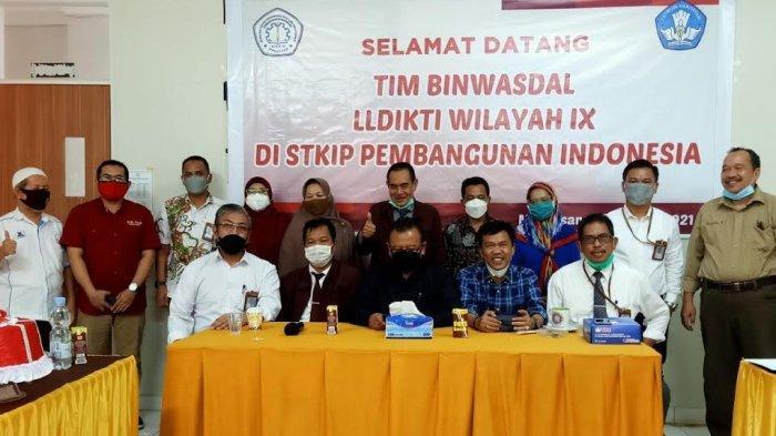 Tim Binwasdal LLDikti IX Kunjungi Pascasarjana STKIP PI Makassar, Ini Tujuannya