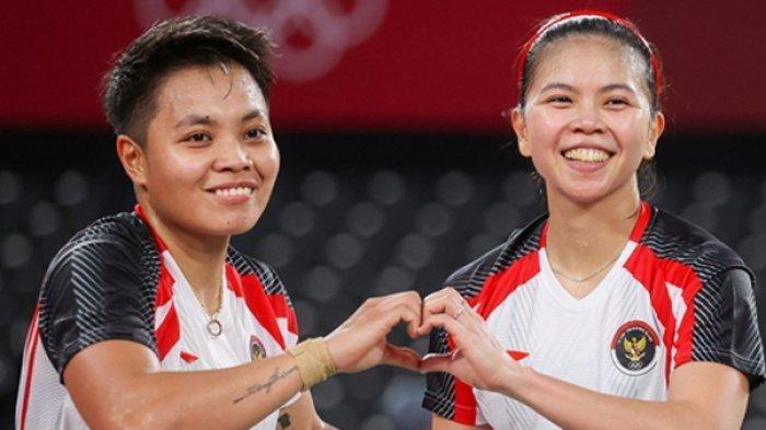Biodata Greysia Polii dan Apriyani Rahayu Juara Badminton Olimpiade, Penyumbang Emas untuk Indonesia