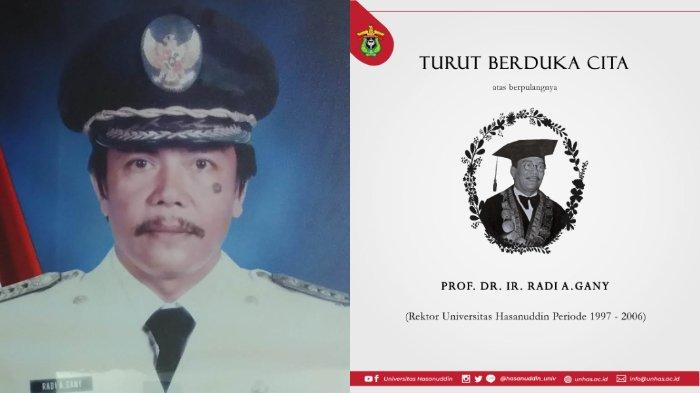 Biodata Prof Radi A Gany, dari Bupati hingga Jabat Rektor Unhas, Inisiasi Gelar untuk Nelson Mandela