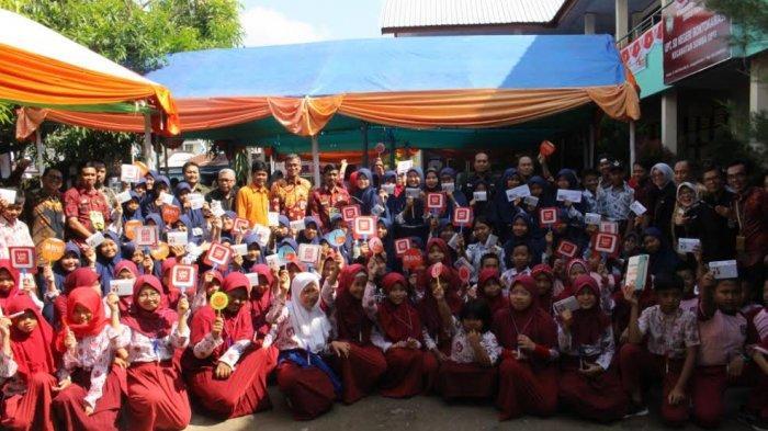 BNI Galakkan Budaya Gemar Menabung ke Pelajar di Gowa