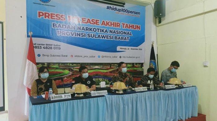 BNNP Sulbar: Hasil Penelitian Lipi dan BNN, 2.248 Jadi Pecandu Narkoba