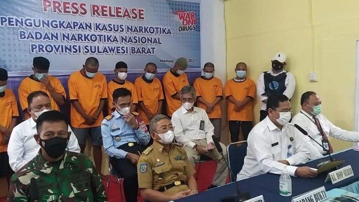 BNNP Sulbar Ungkap Dua Kasus Peredaran Sabu di Polman