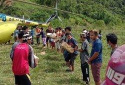 BNPB: Lebih 100 Ton Bantuan Terdistribusi Gunakan Helikopter Pascagempa Sulbar