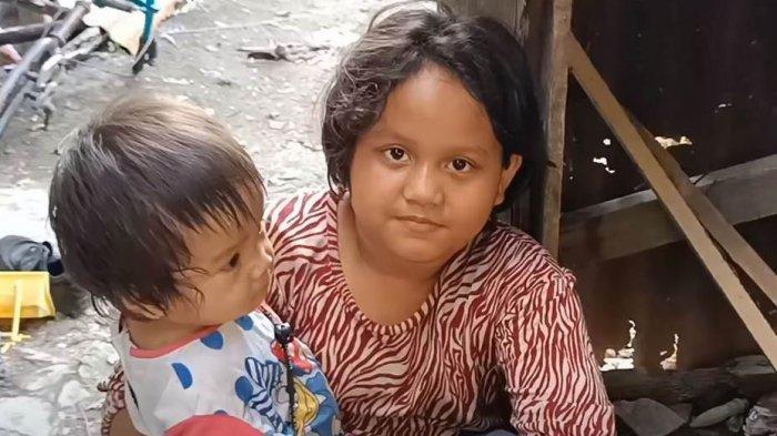 Bocah Perempuan Berusia 11 Tahun Ini Harus Merawat 3 Adiknya Usai Ayah dan Ibunya Ditangkap Polisi