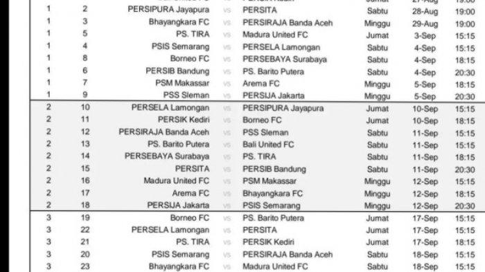 Jadwal Pertandingan BRI Liga 1, Empat Pertandingan PSM Melawan Klub Jawa Timur